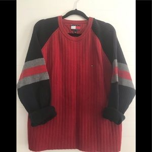 🤩Vintage Tommy chunky Sweater🤩